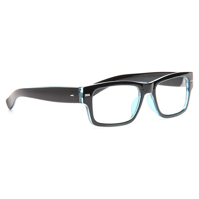 Devin Rectangular Skinny Clear Glasses