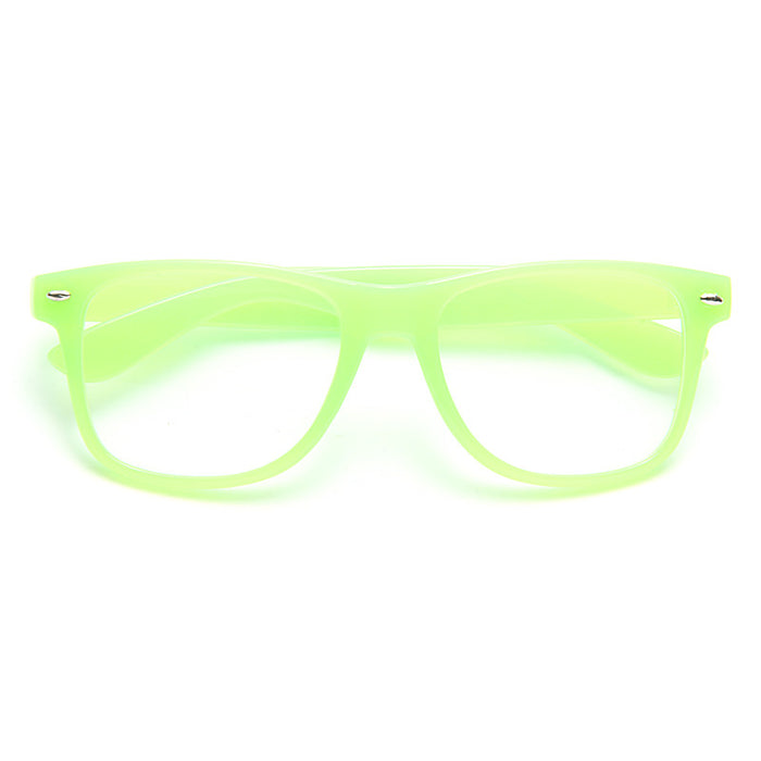 Jude 2 Large Clear Horn Rimmed Glasses