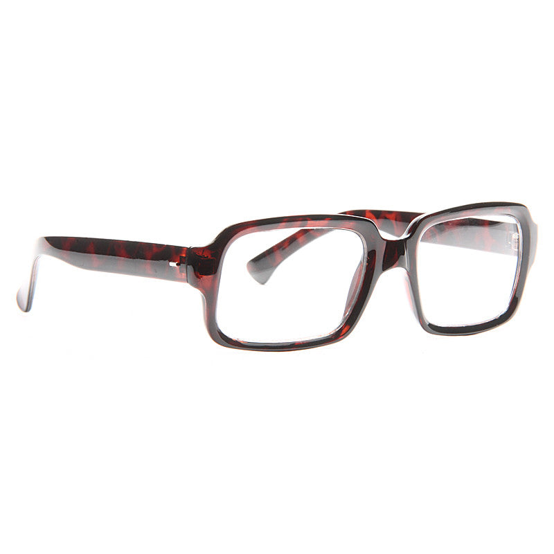 Cicero Unisex Rectangular Clear Glasses