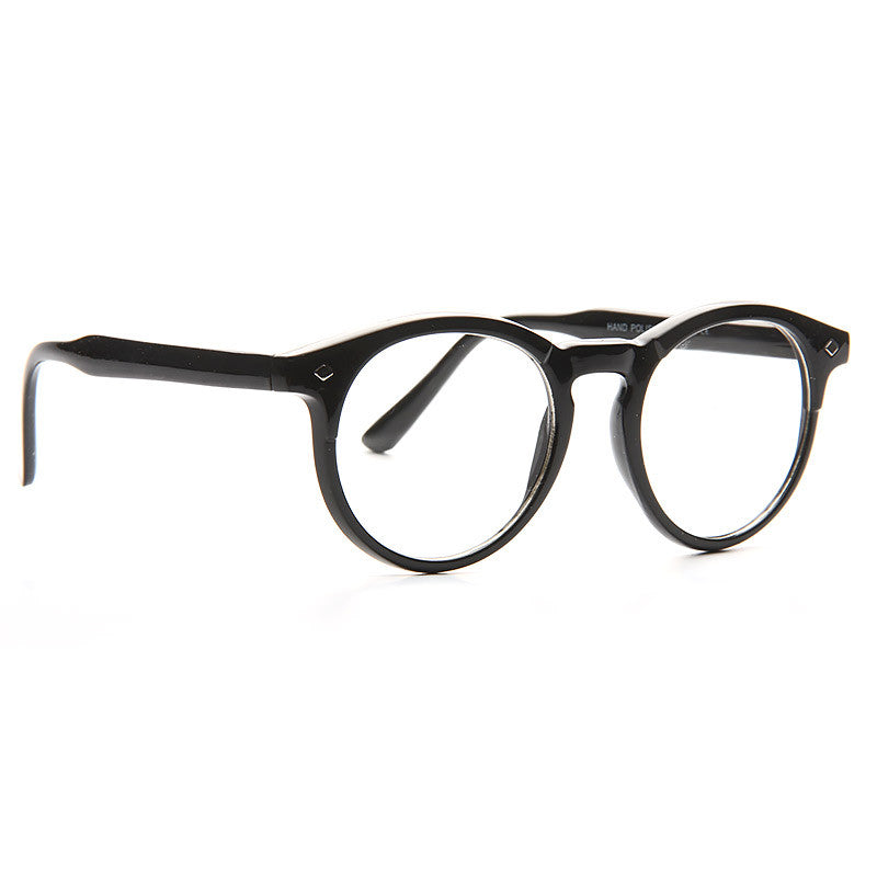 Irvington Rounded Horn Rimmed Clear Glasses