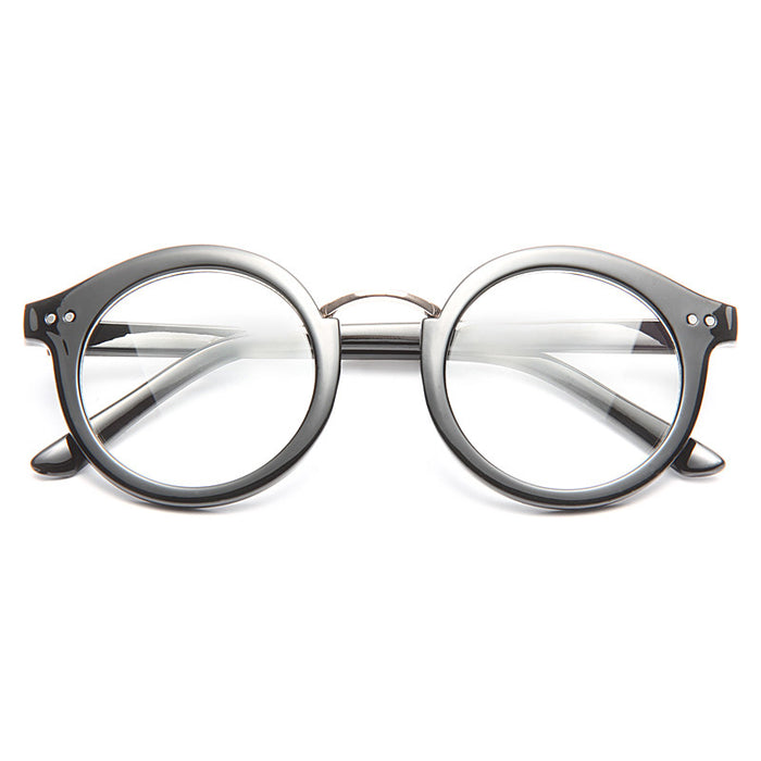 Arlington Unisex Round Clear Glasses