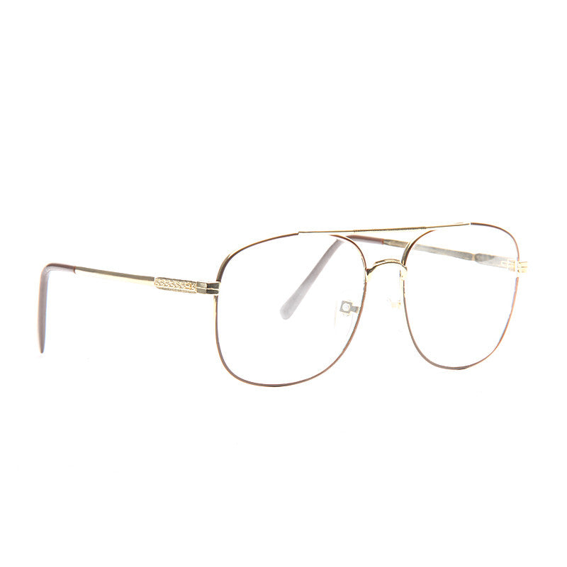Saxton Vintage Clear Aviator Glasses