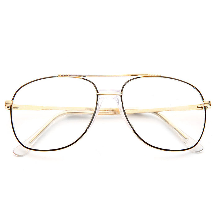 Rosemead Vintage Clear Aviator Glasses