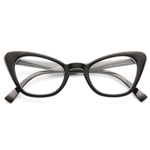 8593691ffb0 Alexis Gradient Frame Cat Eye Clear Glasses