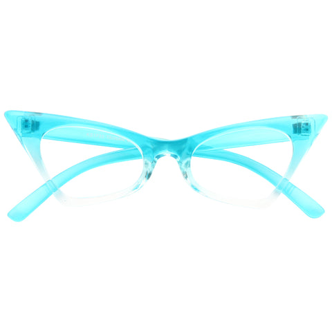 f354facd08d Esme Sharp Cat Eye Clear Glasses
