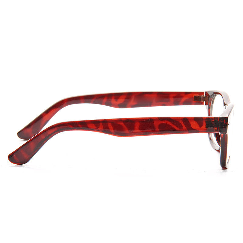 Cove Unisex Skinny Clear Horn Rimmed Glasses