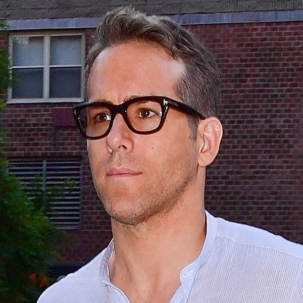 Ryan Reynolds Style Clear Horn Rimmed Glasses