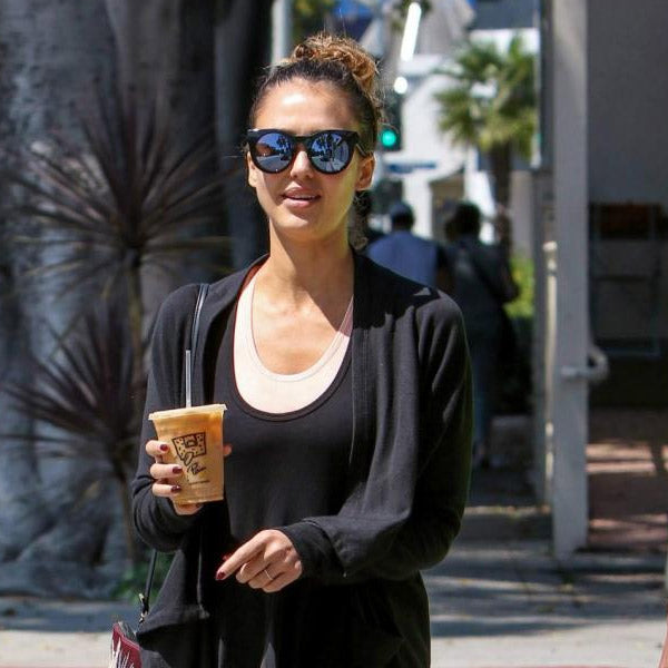 Jessica Alba Style Cat Eye Celebrity Sunglasses