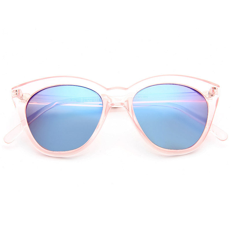 Halfmoon Designer Inspired Cat Eye Sunglasses
