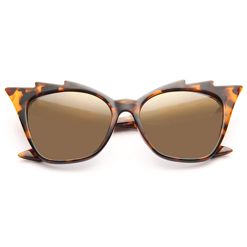 Beyonce Style 711 Video Sharp Cat Eye Sunglasses
