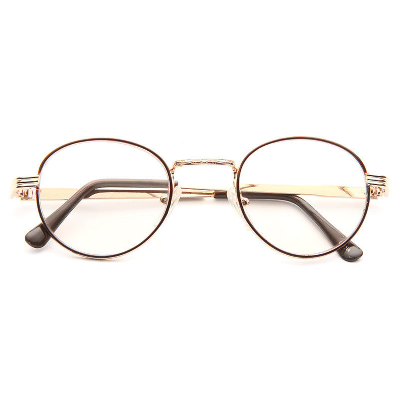 Finley Vintage Thin Super Dark Sun Sensor Clear Glasses