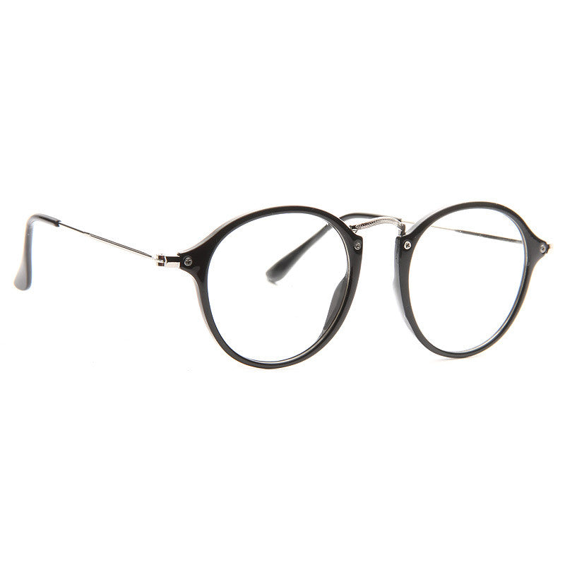 Dalton Thin Round Clear Frame Clear Glasses