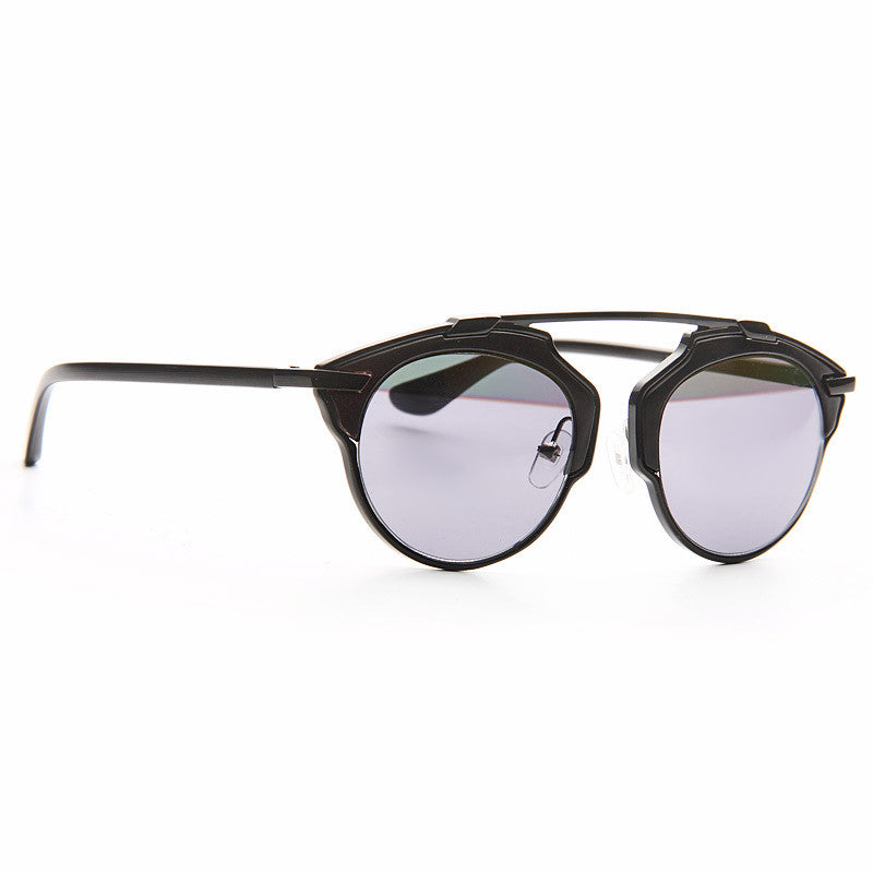 So Real 3 Designer Inspired Flat Top Sunglasses