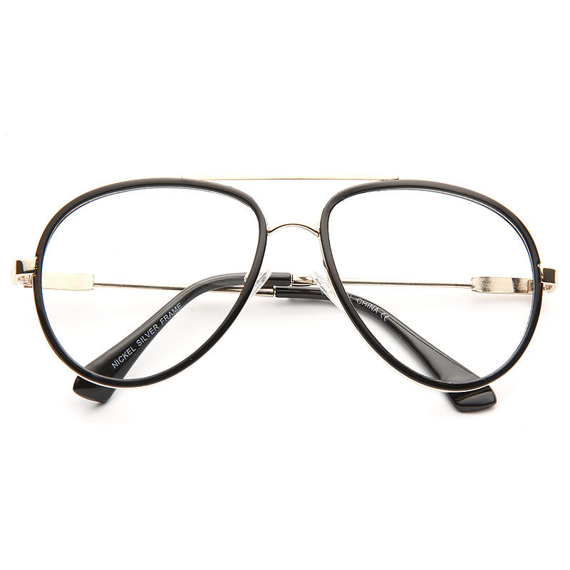 Westhaven Thin Frame Clear Aviator Glasses – CosmicEyewear c6c1c2d44a3