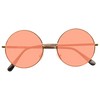 Mary Kate Olsen Style Light Tint Round Celebrity Sunglasses