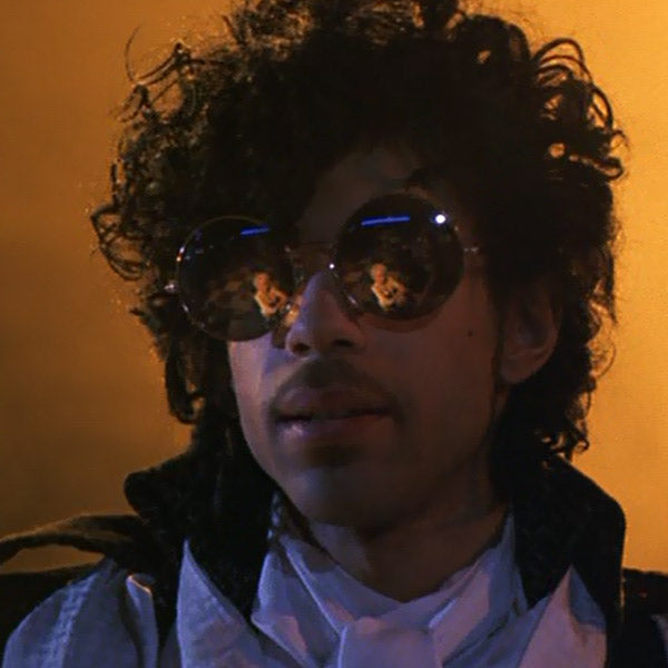 Prince Purple Rain Round Sunglasses