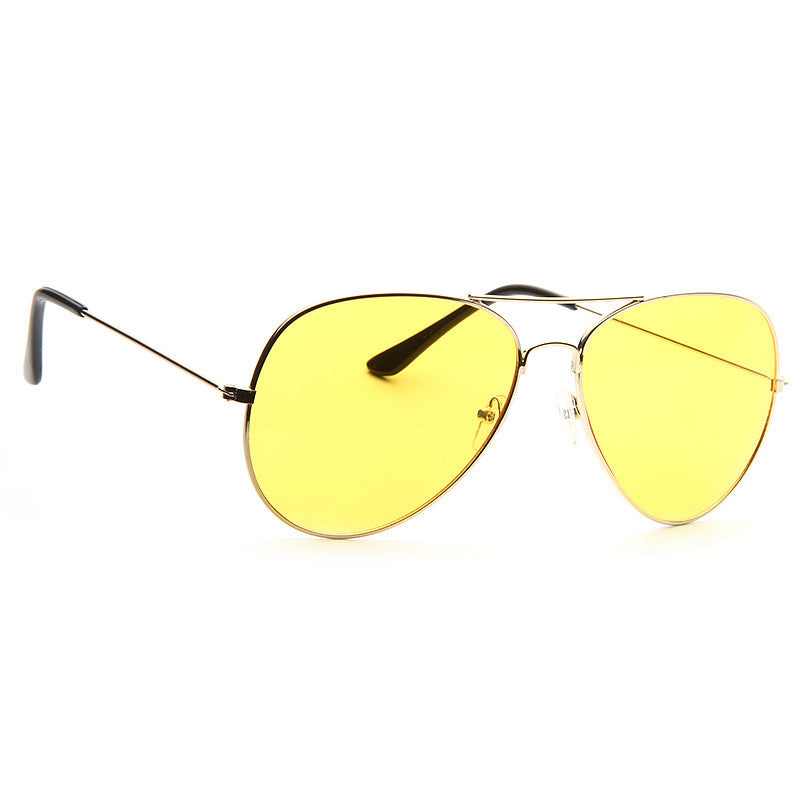 Classic 58Mm Tinted Lens Aviator Sunglasses