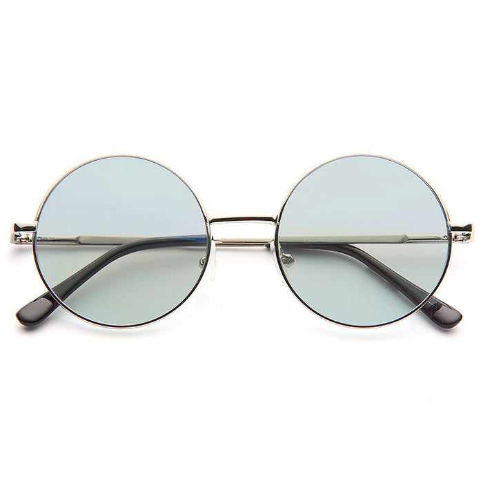 Mary Kate Color Tinted 90s Round Sunglasses