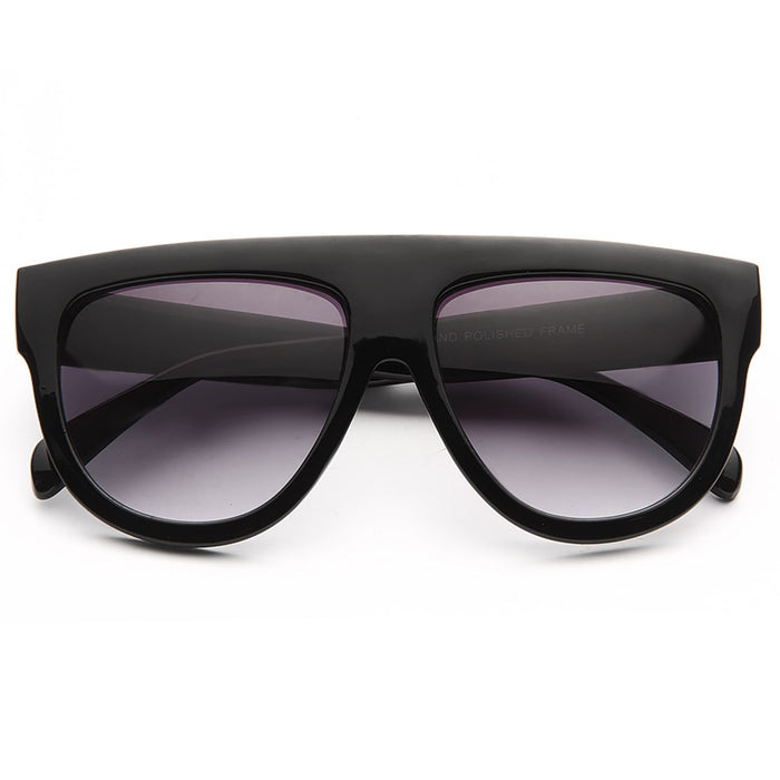 Shadow Designer Inspired Flat Top Sunglasses