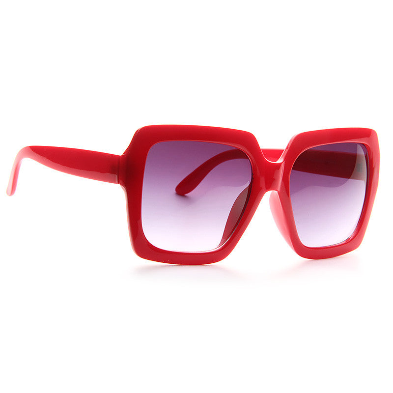 Leisure Designer Inspired Oversized Square Sunglasses