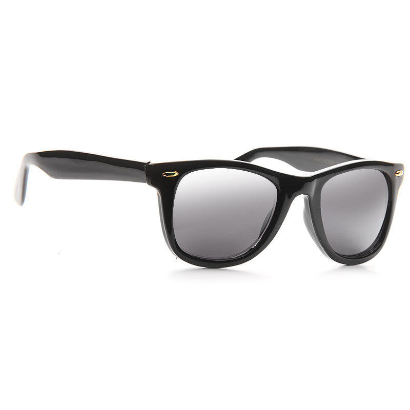 Loudon Light Mirror Horn Rimmed Sunglasses