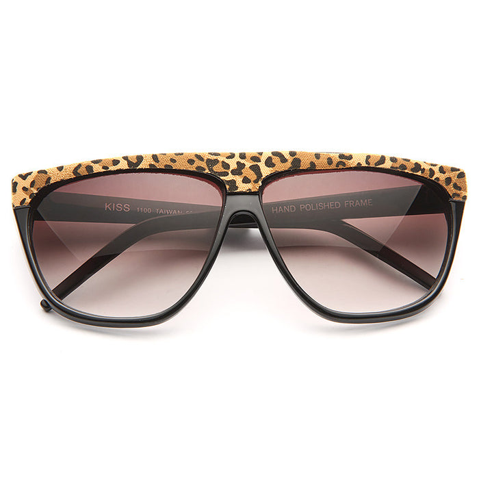 Hartford Printed Flat Top Sunglasses