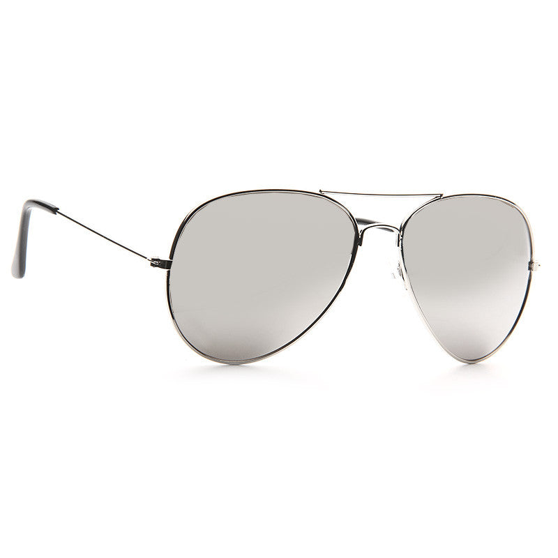 Classic 58Mm Mirror Aviator Sunglasses