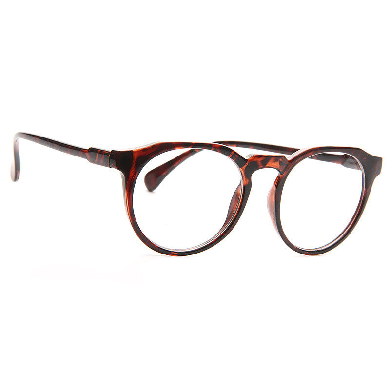 Tristan Oversized Round Clear Glasses