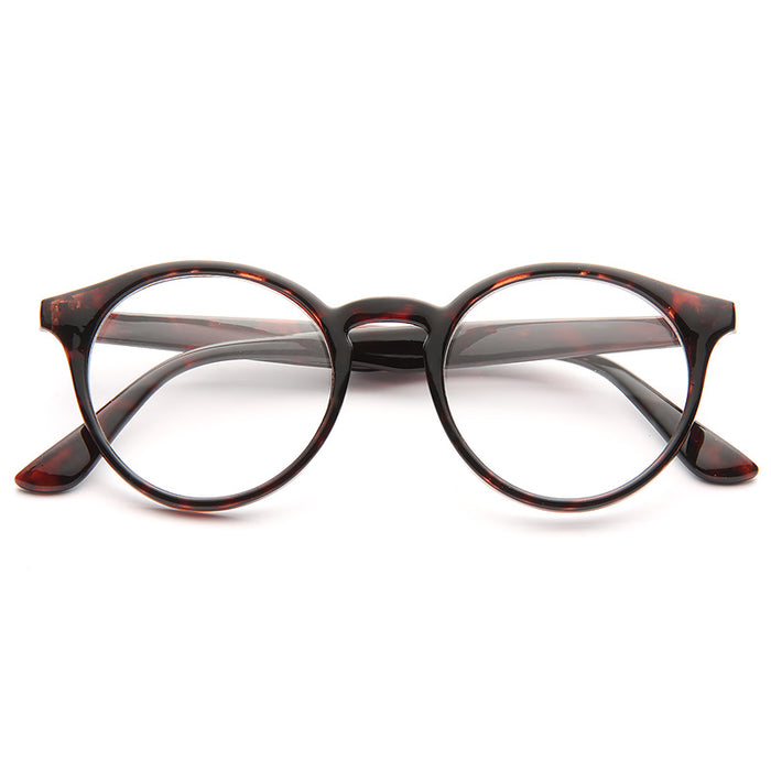Grayson Oversized Round Clear Computer Glasses