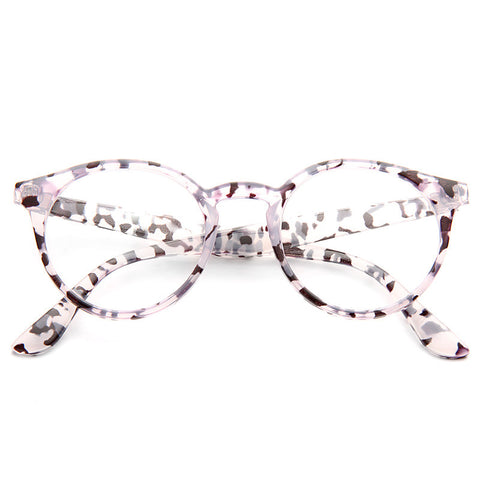 7c21507e808 Grayson Oversized Round Clear Glasses