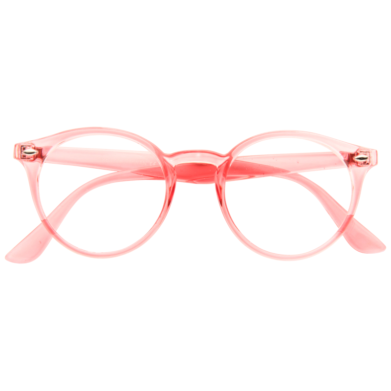 Bella Thorne Style Oversized Round Celebrity Clear Glasses