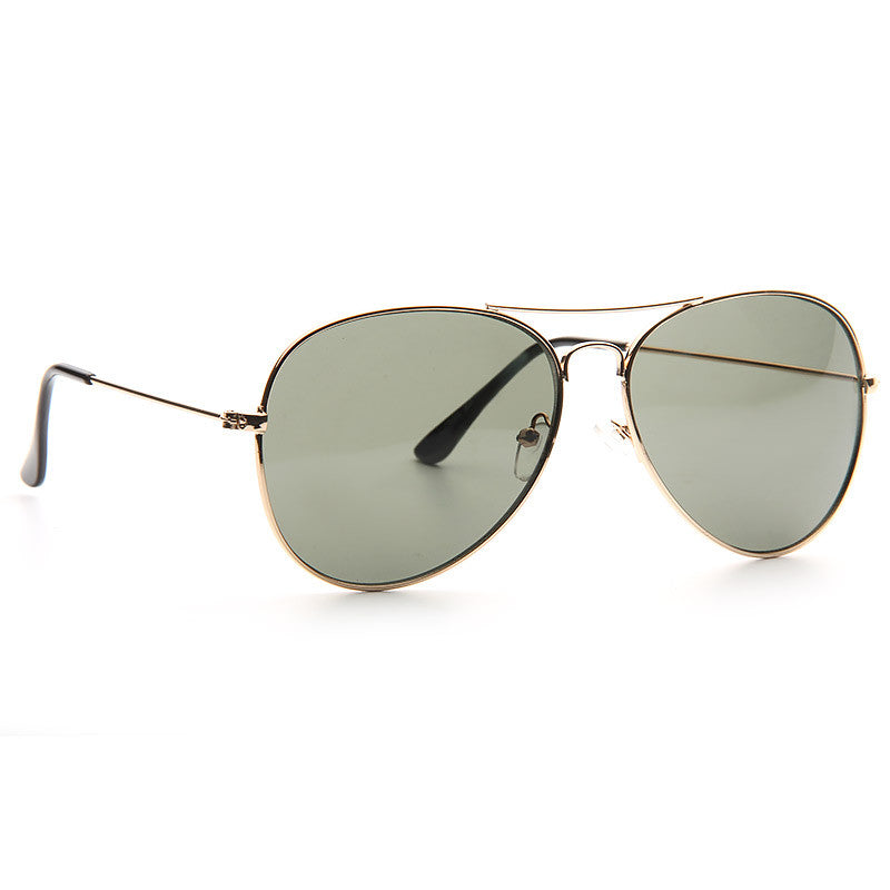 Alessandra Ambrosio Style 60mm G 15 Green Lens Aviator Celebrity Sunglasses