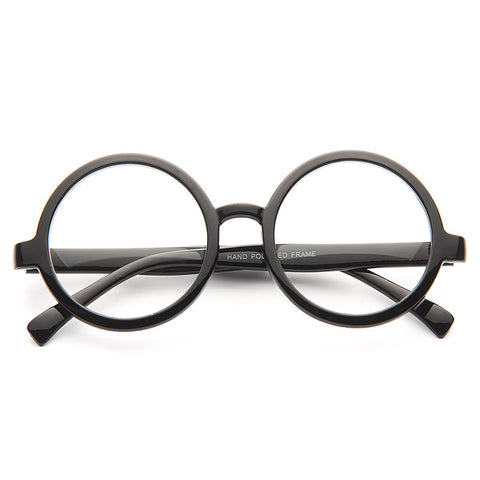 521f827276d10 Miller Oversized Round Clear Glasses