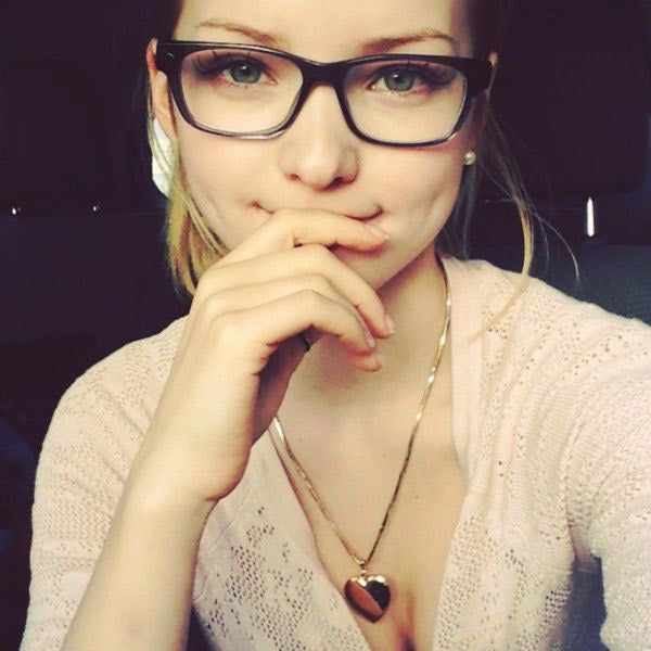 Dove Cameron Style Skinny Squared Celebrity Clear Glasses