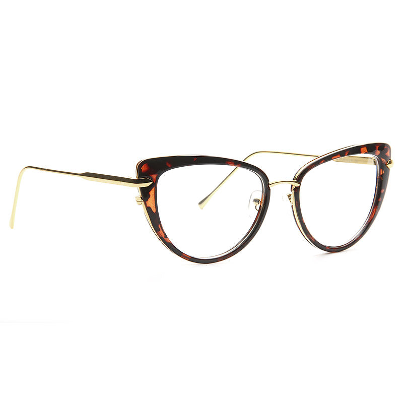 Reed Plastic Frame Cat Eye Clear Glasses