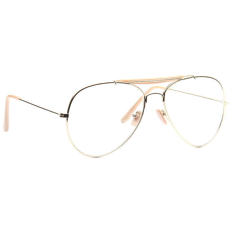 Outdoorsman 60mm Clear Aviator Glasses