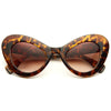 Lady Gaga Style Oversized Cat Eye Celebrity Sunglasses