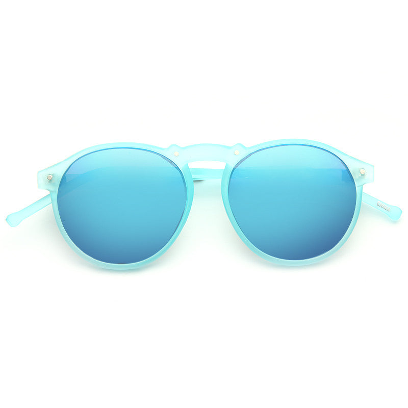 Rockton Unisex Rounded Frosted Sunglasses