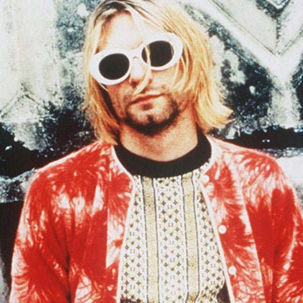 Kurt Cobain Style Oversized Round Celebrity Sunglasses