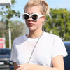Sofia Richie Style Oversized Round Celebrity Sunglasses