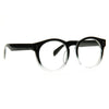 Briggs Oversized Round Clear Glasses