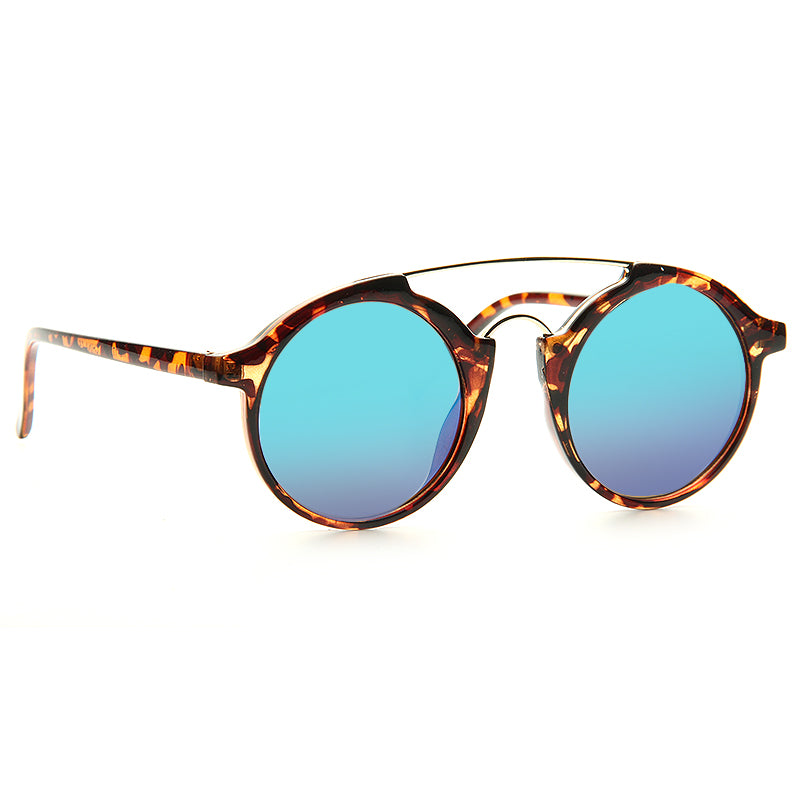 Kate Hudson Style Curved Round Celebrity Sunglasses