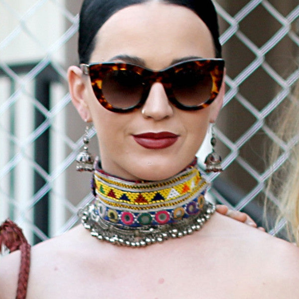 Katy Perry Style Cat Eye Sunglasses