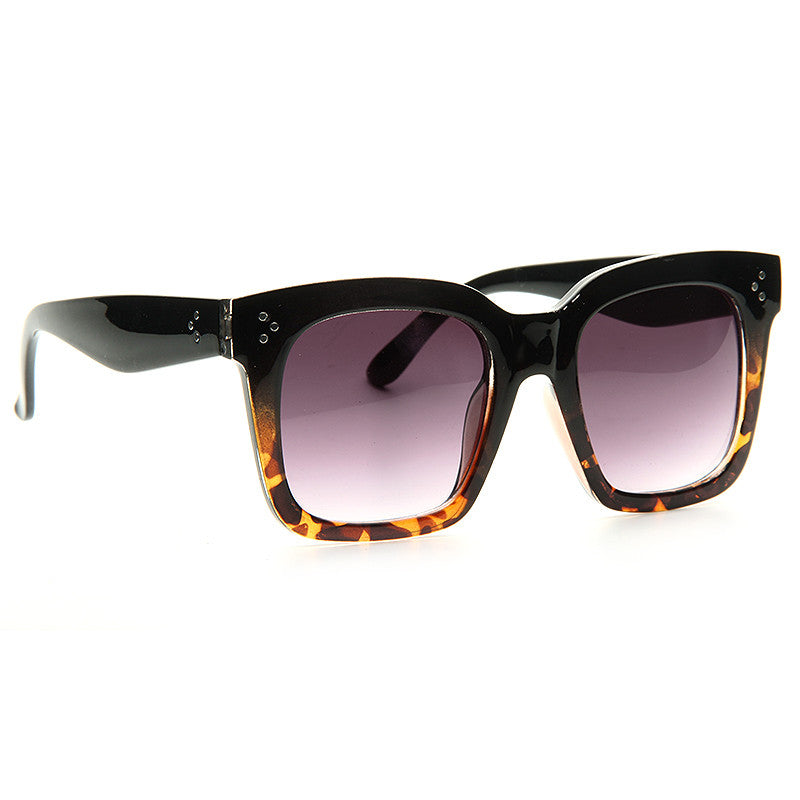 French Montana Style Horn Rimmed Celebrity Sunglasses