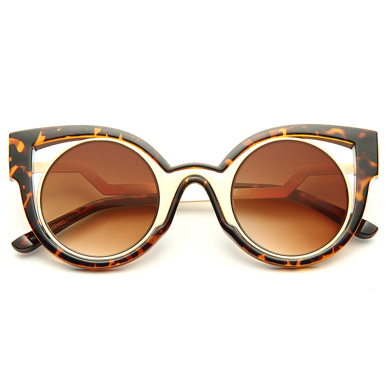 Cara Delevingne Style Cat Eye Celebrity Sunglasses