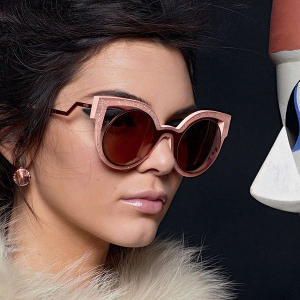 Kendall Jenner Style Cat Eye Celebrity Sunglasses