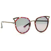 Nocturnal Designer Inspired Pointed Cat Eye Clear Frame Sunglasses