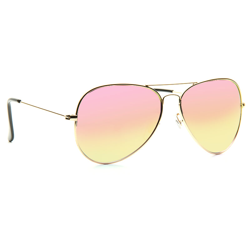 Kylie Jenner Style  60mm Color Mirror Aviator Celebrity Sunglasses