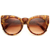 Foxholm Chunky Cat Eye Sunglasses