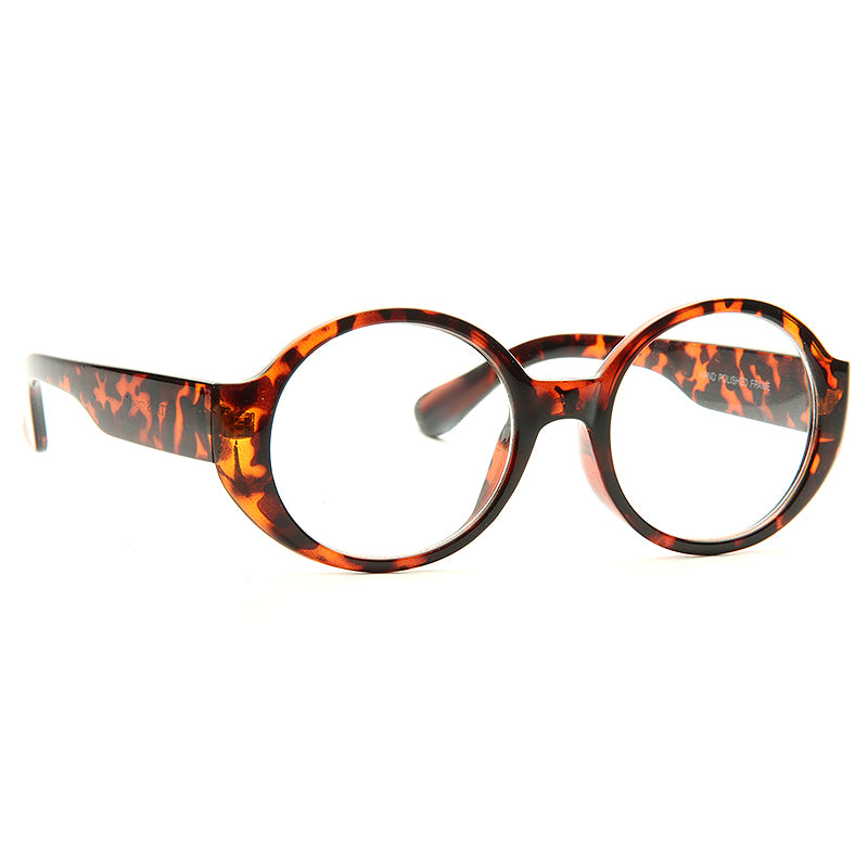 Nitro Thick Frame Clear Glasses